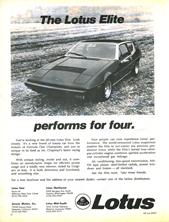 Lotus Cars Limited - 1975