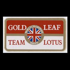 Gold Leaf Team Lotus