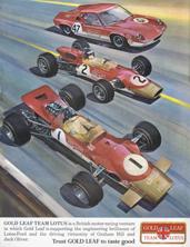 Gold Leaf Team Lotus 1968