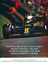 John Player Special 1984