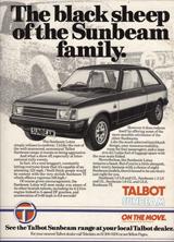 Talbot Sunbeam - 1980