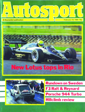 Type 97T, Ayrton Senna