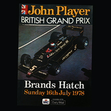 Brands Hatch, John Player British GP