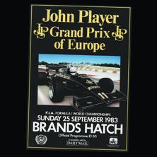 Brands Hatch, John Player GP of Europe