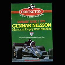 Donington Park, Gunnar Nilsson Memorial