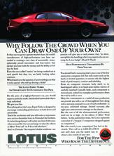 Lotus Cars USA - 1988