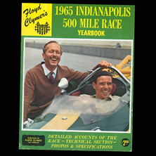 1965 Indy 500 Mile Race Yearbook