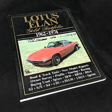 Lotus Elan Gold Portfolio 1962-1974