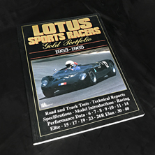 Lotus Sports Racers Gold Portfolio 1953-1965