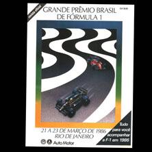 Jacarepagua, Brazilian Grand Prix