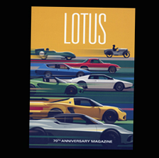 Lotus Cars: 70th Anniversary Magazine