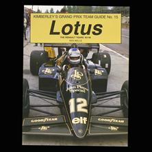 Kimberley's Grand Prix Team Guide 15 - Lotus
