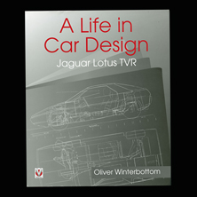 A Life in Car Design, Jaguar, Lotus, TVR