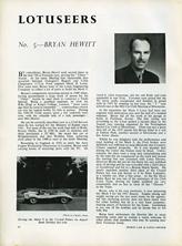 The Lotuseers  #5 - Bryan Hewitt