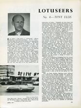 The Lotuseers  #6 - Tony Ellis