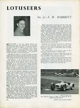 The Lotuseers  #7 - F.W. Marriott