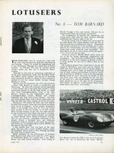 The Lotuseers  #8 - Tom Barnard