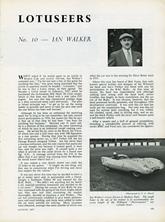 The Lotuseers  #10 - Ian Walker