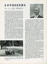 The Lotuseers  #13 - Bill Perkins