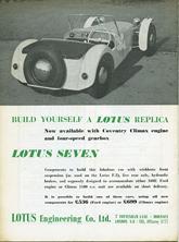Lotus Engineering 1958