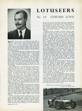 The Lotuseers  #16 - Edward Lewis