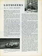 The Lotuseers  #22 - Tom Dickson