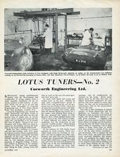 Lotus Tuners No.2 - Cosworth Engineering