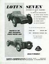 Lotus Components 1959