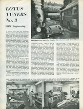 Lotus Tuners No.3 - DRW Engineering