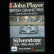 Silverstone, John Player Grand Prix