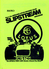 Slipstream - Midland Lotus Drivers Club