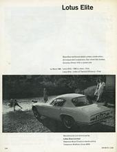Lotus Cars Limited 1961