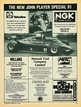 Valvoline/NGK - 1982
