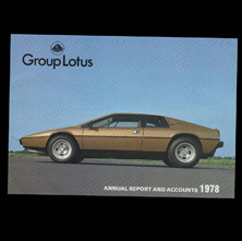 Group Lotus - Annual Report & Accounts