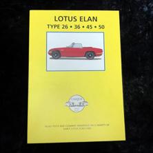 Lotus Elan Type 26 36 45 50
