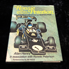 Ronnie Peterson Grand Prix Racing Driver