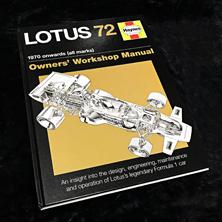 Lotus 72 Owners Workshop Manual