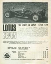 Lotus Seven 1500