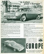 Lotus Europe