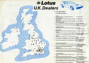 Lotus UK Dealers