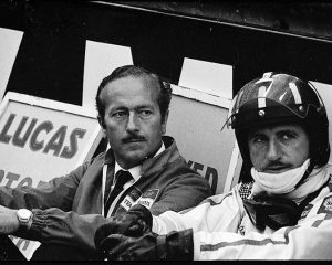Graham Hill, Colin Chapman