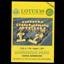 Donington Park, Lotus '89