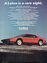 Lotus Cars USA - 1980