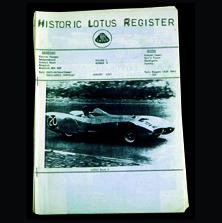 Historic Lotus Register