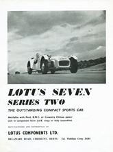 Lotus Components 1960