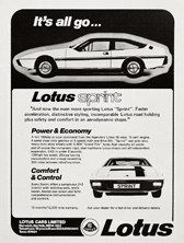 Lotus Cars Limited - 1978