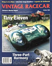 Vintage Racecar Journal