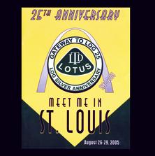 St. Louis MS, LOG 25 (Lotus Owners Gathering)