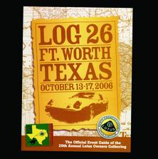 Fort Worth TX, LOG 26 (Lotus Owners Gathering)