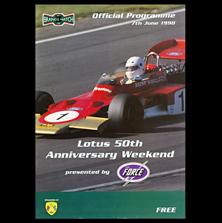 Brands Hatch, Lotus 50th Anniversary Weekend